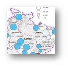 Analýza prostorových aspektů služeb SPC - Mapová galerie